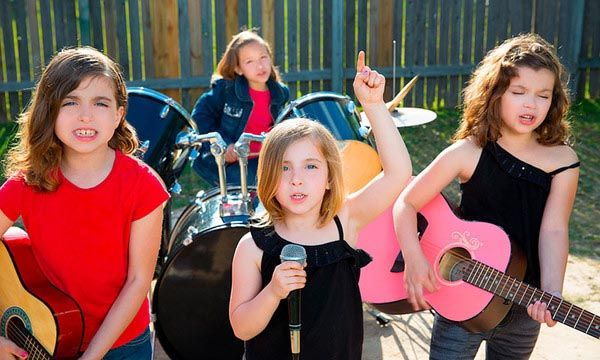 Bondades de la música en niños
