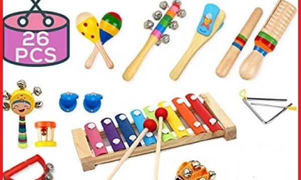 Instrumentos infantiles para niños de preescolar